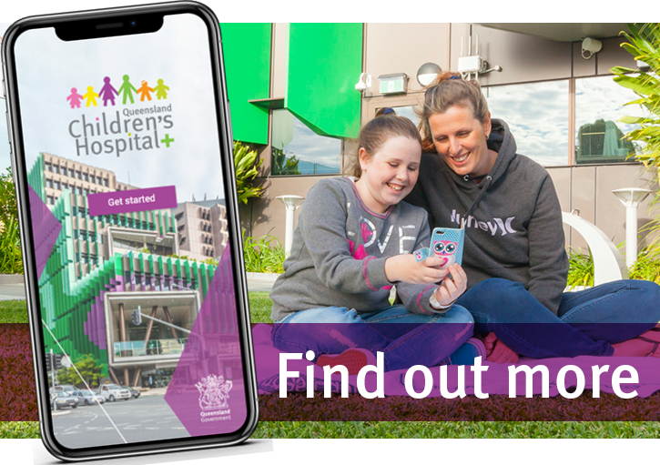 MyQCH app - Queensland Childrens Hospital