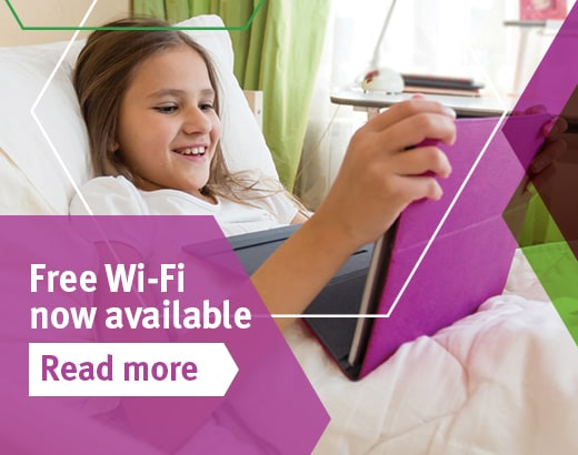 Free Wi Fi now available at Lady Cilento Children's Hospital