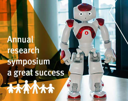 Annual research symposium great success